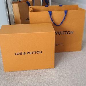 Huge Louis Vuitton Box & Bag